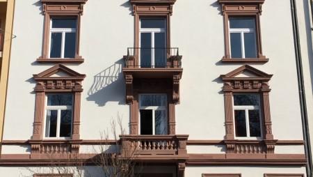 Fassade Gartenstr. Frankfurt