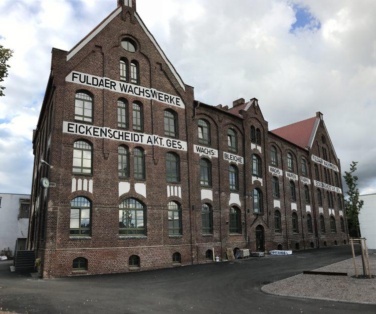 Denkmalpflege am Industriegebäude